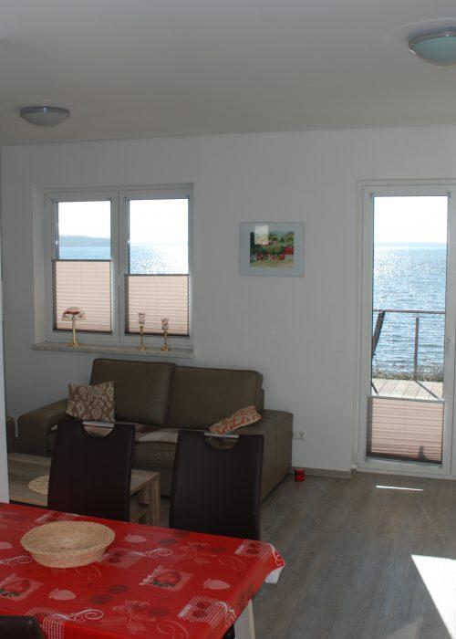 Ferienhaus mit eigenem Strand